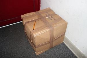 .. la scatola di una pellicola :)