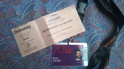 Biglietto e Pass Cannes 2017
